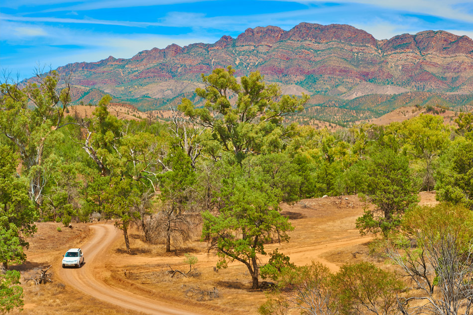 Self-drive Flinders Ranges