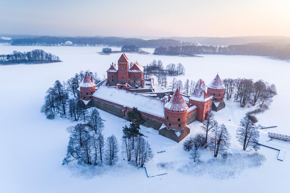 Le sorprese della Lituania in inverno.