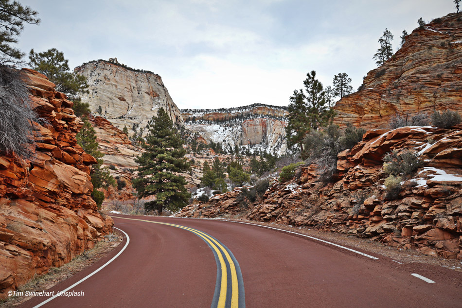 On the road Bryce Canyon