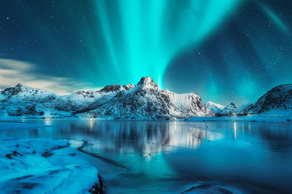 La coinvolgente esperienza dell'aurora in Norvegia.