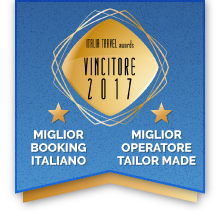 Premio Miglior Booking - Miglior Operatore Tailor made - Italia Travel Awards
